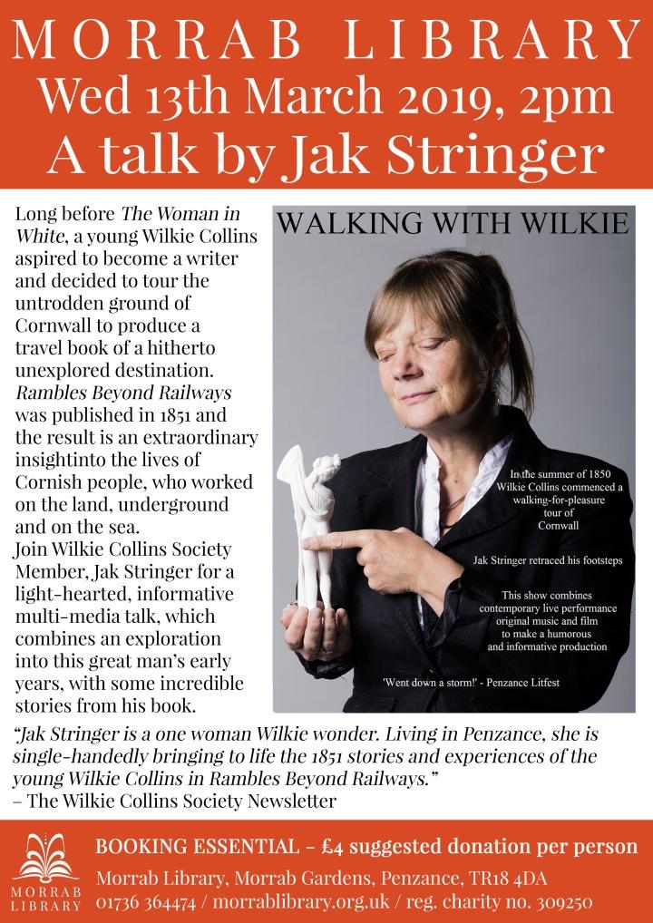 2019 March 13 Wilkie Collins talk by Jak Stringer