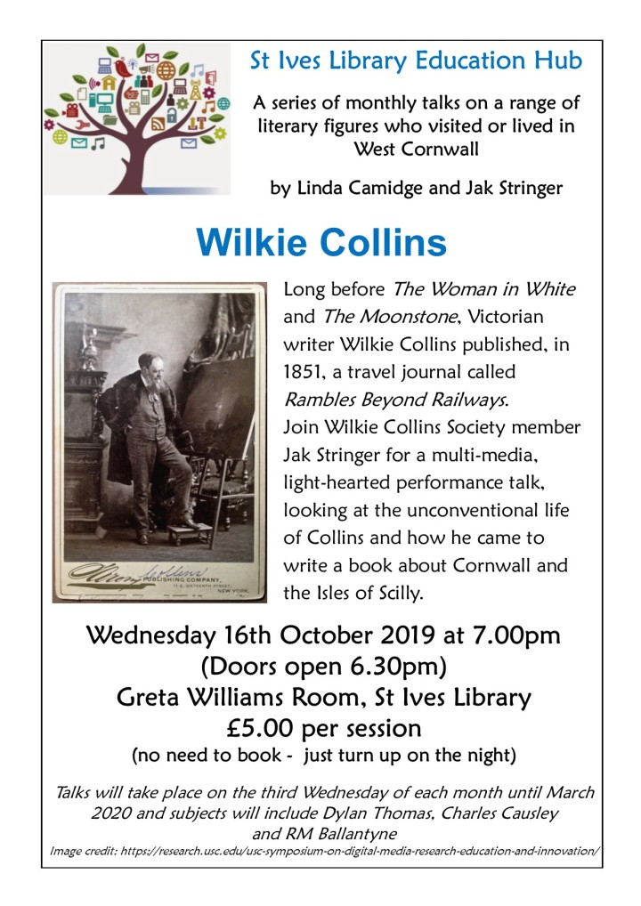 Wilkie Collins poster